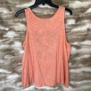 Anthropologie Sleeveless Top with Open Back